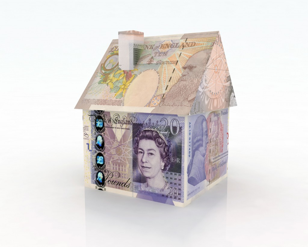 House built with banknotes. BMD03T