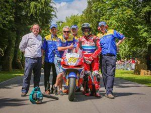 23 time TT winner John McGuinness at the Park last year.