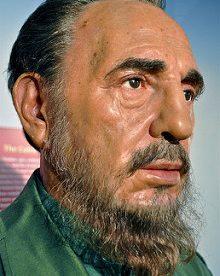 The late Fidel Castro Photo credit: Kevin Burkett