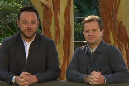 Ant and Dec host 'I'm a celebrity... get me out of here' (Source: ITV 1)