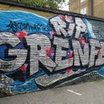 Graffiti tribute to the lives lost in the grenfell tower tragedy. Source: Duncan C (via Flickr)