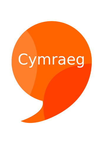 Image result for cymraeg speech bubble