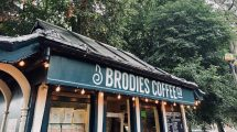 Brodies Coffee Co stands in Gorsedd Gardens