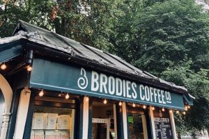 Brodies Coffee Co stands in Gorsedd Gardens