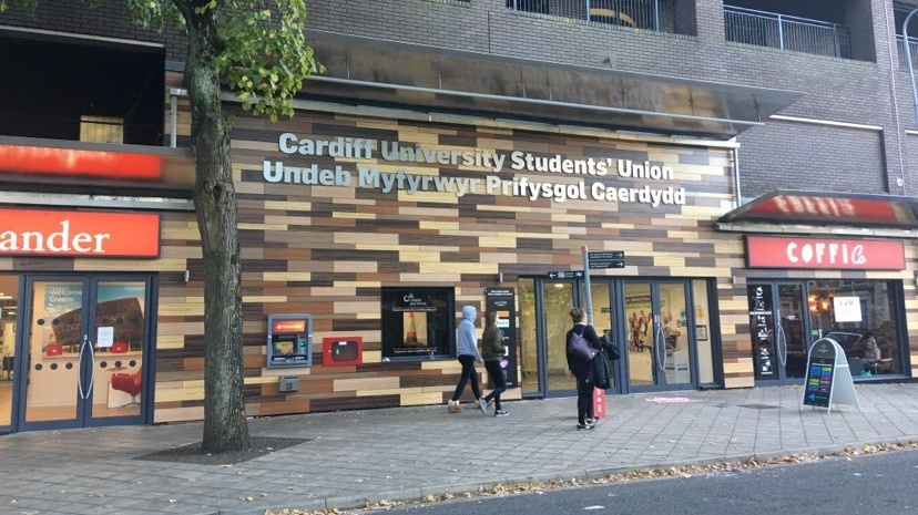 Cardiff Student's Union entrance