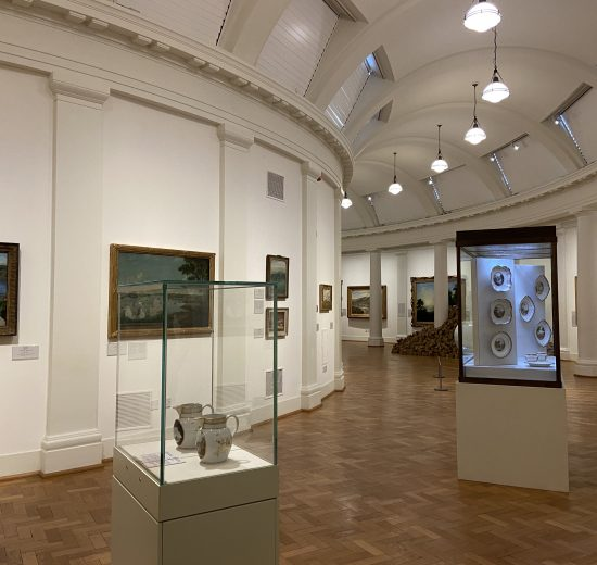 Welsh Landscapes exhibition gallery