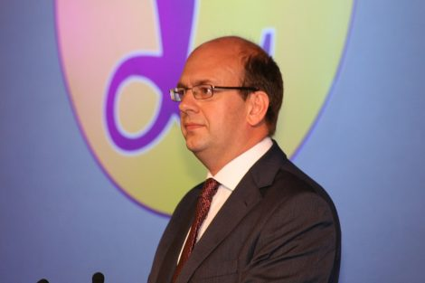 Mark Reckless, who has announced his fifth political defection.