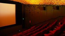 Empty Cinema Screen
