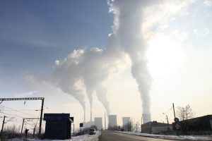 fumes from fossil fuel use