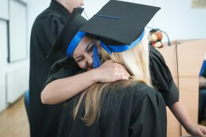Graduating starts the transition to adulthood