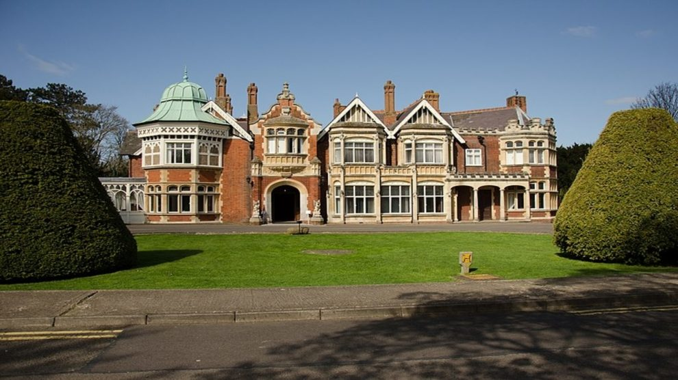Alan Turing worked at Bletchley Park during the war period