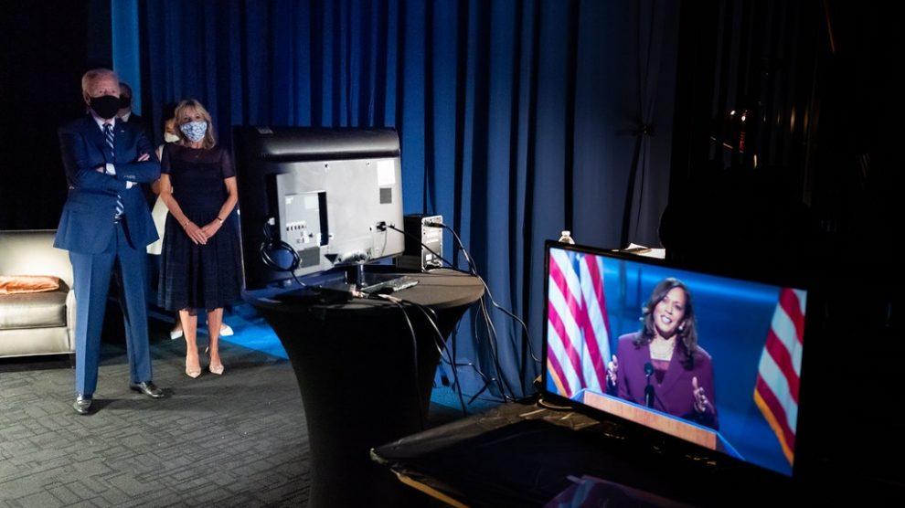 Biden and Harris election win