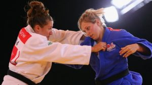 Natalie Powell fights Gemma Gibbons at Glasgow 2014