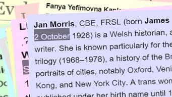 Bu farw'r newyddiadurwraig Jan Morris yn ddiweddar.