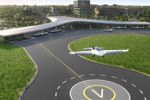 Lilium's proposed 'vertiport' construction