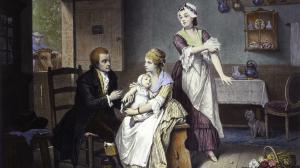 Jenner and smallpox vaccine