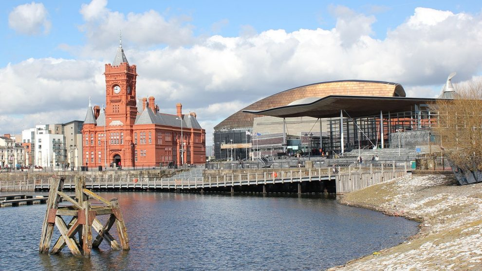 The Senedd, where Andrew RT Davies has been selected as leader of the Welsh Conservatives