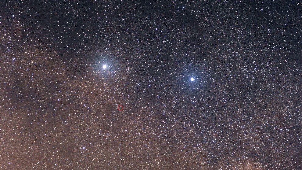 Alpha and Beta Centauri