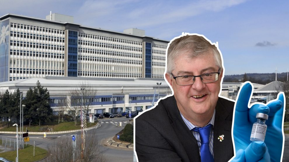 Mark Drakeford, who has overseen the vaccine roll out in Wales.