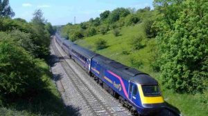 Train from South Wales