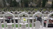 The graves at Aberfan