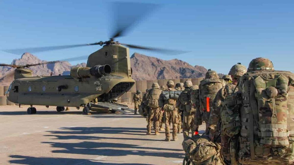 Afghanistan withdraw NATO