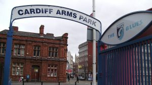 Cardiff Arms Park, South Entrance