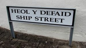 Streets in this county have also pledged to be naming streets in the Welsh language.