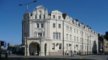 Safe space: Anyone in Cardiff who feels unsafe can go to the hotel for help.