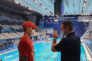 Tokyo Olympics pool