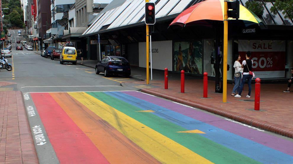 rainbow crossing