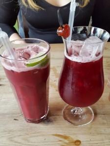 Cosy Club - Daiquiri and Cherry Bakewell