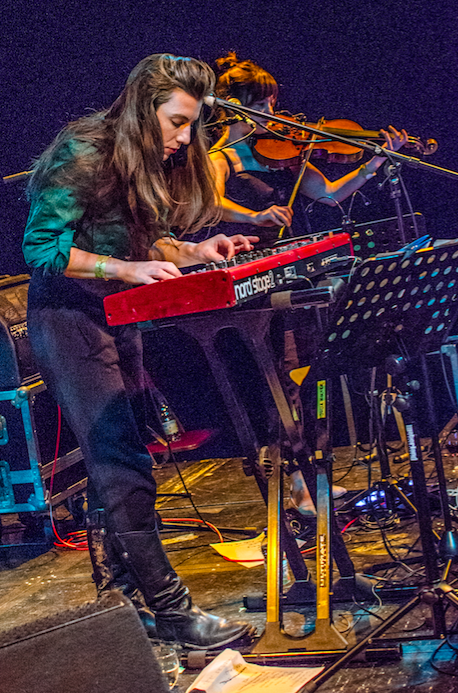 Julia Holter at From Now On Festival [Photo by Adam Chard]