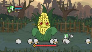 Castle Crashers Corn Boss