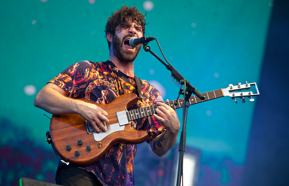 Foals at Reading (c) Emma Swann