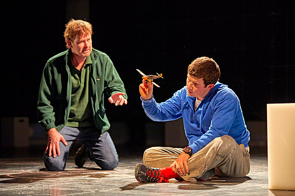 Christopher Boone in The Curious Incident of the Dog in ...