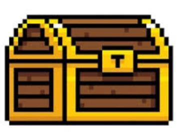 treasure chest pixel art cinema extra