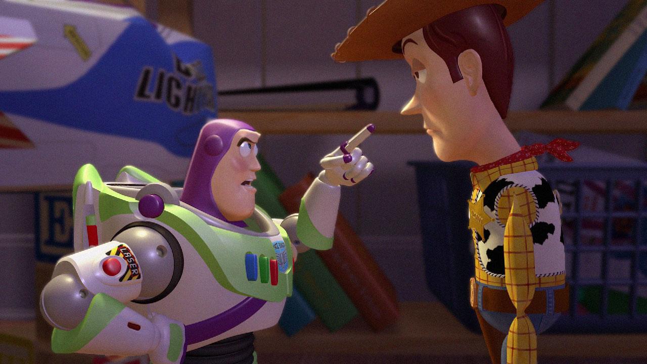 Woody Pixars cruellest sociopath VS Buzz