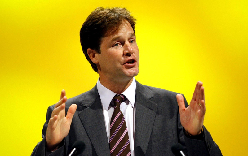Nick Clegg has said that a Labour/Lib Dem coalition is possible
